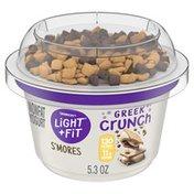 Light + Fit Nonfat S'Mores Crunch Greek Yogurt