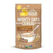 Little Duck Organics Cereal, Might Oats, Naked, Pouch