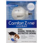 Comfort Zone For Dogs & Puppies Diffuser Reduce Whining, Trembling + Destructive Behavior
