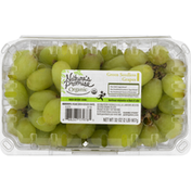Nature's Promise Grapes, Organic, Green, Seedless