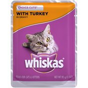 Whiskas Archived Choice Cuts with Turkey In Gravy Whiskas Choice Cuts with Turkey in Gravy Wet Cat Food