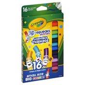 Crayola Markers, Washable, 16 Unique & Bright Colors