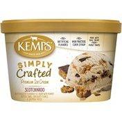Kemps Simply Crafted Scotcharoo Premium Ice Cream