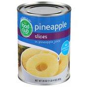 Food Club Pineapple Slices In Pineapple Juice