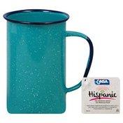 Cinsa Mug, Tall, Turquoise, 20 Ounce
