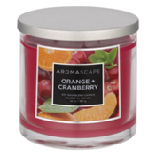 Aromascape Soy Wax Blend Candle Orange + Cranberry