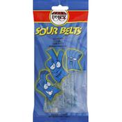Paskesz Sour Belts Candy Raspberry