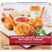 Seapak Shrimp Co. Parmesan Asiago Encrusted Butterfly Shrimp