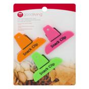 Good Living Mini Snack Saver Clips Neon