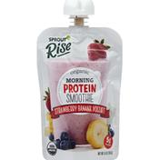 Sprout Morning Protein Smoothie, Organic, Strawberry Banana Yogurt