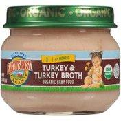 Earth's Best Stage 1 Turkey & Turkey Broth Organic Baby Food