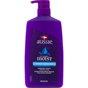 Aussie Mega Moist Shampoo with Pump