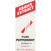 Adams Extract Extract, Peppermint, Pure