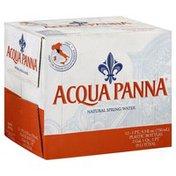 Acqua Panna Water, Natural Spring