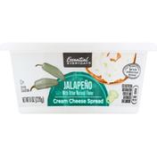 Essential Everyday Cream Cheese Spread, Jalapeno
