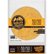 La Tortilla Factory 50/50 Corn + Flour Stoneground Corn Tortillas