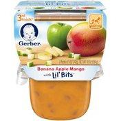 Gerber 3F Banana Apple Mango with Lil' Bits Purees Fruit