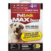 Petlock Max for Dogs Large Dog Monthly Topical  Large Dog Monthly Topical Treatment