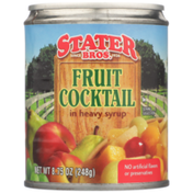 Stater Bros. Markets Fruit Cocktail in Heavy Syrup