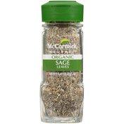 McCormick Gourmet™  Organic Sage Leaves