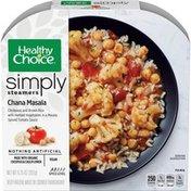 Healthy Choice Simply Cafe Steamers Chana Masala