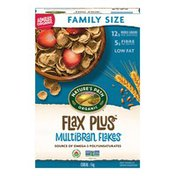 Nature's Path Flax Plus Multibran Flakes Cereal, Family Size