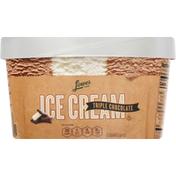 Lowes Foods Ice Cream, Triple Chocolate