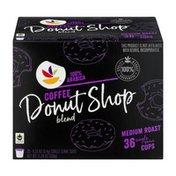 SB Medium Roast Single Serve Cups Coffee Donut Shop Blend - 36 CT