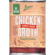 Lowes Foods Broth, Chicken, Reduced Sodium