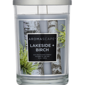 Aromascape Candle, Lakeside + Birch