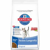 Hill's Science Diet Cat Food, Dry, Mature Adult (7+ Years), Original