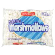 Our Family Miniature Marshmallows