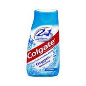 Colgate Oxygen Whitening 2-in-1 Cool Mint Liquid Gel Toothpaste & Mouthwash