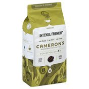 Camerons Coffee, Handcrafted, Whole Beans, Intense French