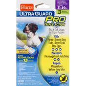 Hartz Ultra Guard Pro Triple Action Flea & Tick Drops For Dogs & Puppies - 3 CT