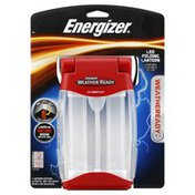 Energizer Folding Lantern, LED, 200 Lumens, 400hours, Weatheready, Blister Pack