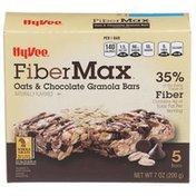 Hy-Vee Fiber Max, Oats & Chocolate Granola Bars