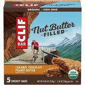 CLIF BAR Nut Butter Filled Caramel Chocolate Peanut Butter