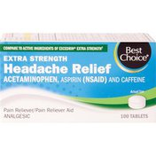 Best Choice Headache Tablets