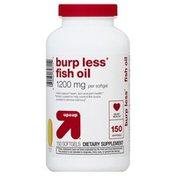 Up&Up Fish Oil, Burp Less, 1200 mg, Softgels