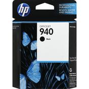 Hewlett Packard Ink Cartridge, OfficeJet, Black 940