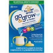 Similac Go And Grow Vanilla Milk-Based Powder Go & Grow by Similac Toddler Drink Vanilla Powder Powder Packs