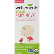 Wellements Organic Baby Move 6 Months+