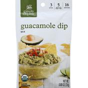 Simply Organic Dip Mix, Guacamole