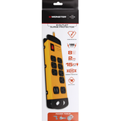 Monster Surge Protector, 8 Outlet