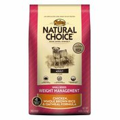 Nutro Natural Choice Adult 1+ Years Small Breed Weight Management Chicken, Whole Brown Rice & Oatmeal Formula Dog Food