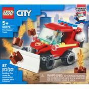 LEGO Toy, Fire Hazard Truck
