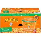 Annie's Mac & Cheese Real Aged Cheddar Micro Cup Mac & Cheese