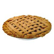 """11"""" Cherry Lattice Pie"""