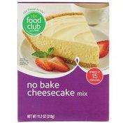 Food Club No Bake Cheesecake Mix